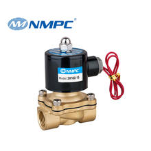 2w160-15 1/2 solenoid brass normally closed electromagnetic valve dc 12v