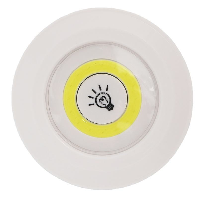 LED light with remote control set of 3 COB PUSH LIGHT