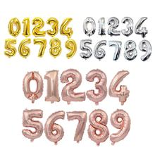 "Silvery letter aluminum foil Balloons Any Custom Phrase 16"" Inch Alphabet Letters & Numbers Foil Mylar Party Balloon"