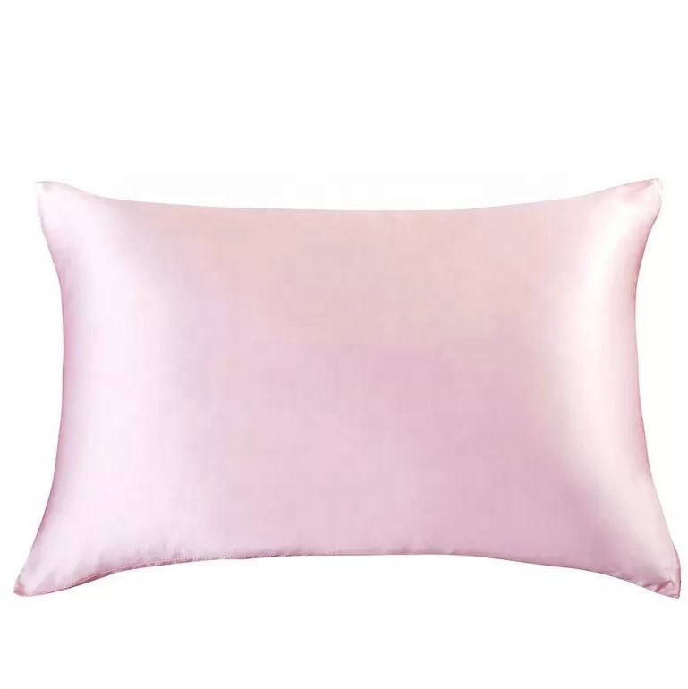 Pure Color Custom Silk Pillow Case Over Cool Cover For Summer