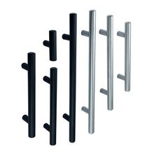 2020 Best sellers Matte Black Metal Stainless Steel Kitchen T Bar Drawer  Pulls Cabinets Handles