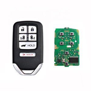 Keyless 6 Tasten 433 Mhz 47 Chip Smart Key Fob Fit Für Honda Odyssey 2014-2017 Auto