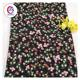 Europe stocklot 100% floral digital printed satin silk fabric for women dress