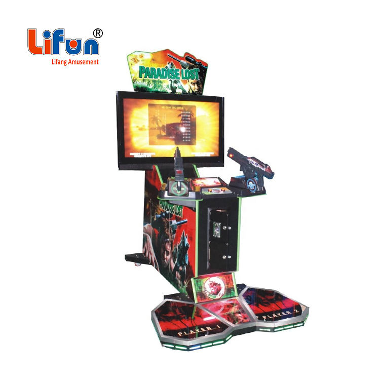 Fabriek Groothandel Indoor Amusement Zone Muntautomaat Video Game Simulator Paradijs Verloren Gun Shooting Arcade Machine