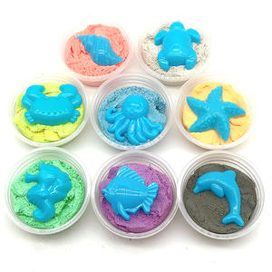 Wholesale small slime making kit one pp box with one free model for kids