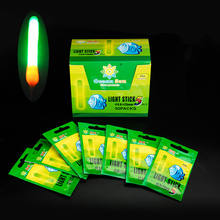 50pack/box Night Fishing Float Fluorescent Light Stick Fishing Glow Stick Fishing Tools