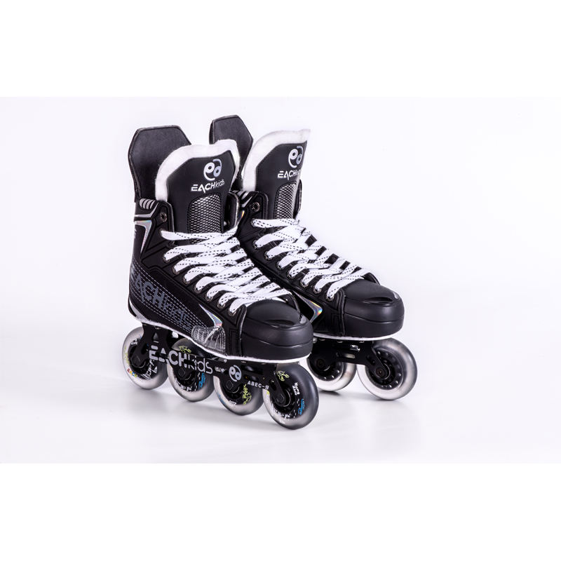 Outdoor Aluminium Single row four-wheel adult roller skates Flashing Safe ice Rollers Skates Shoe