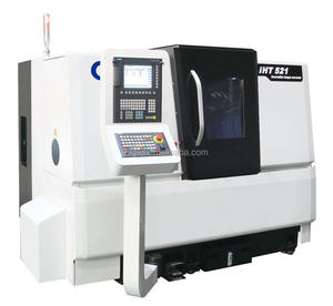 IHT625 High precision turret type slant bed metal cnc lathe processing machine