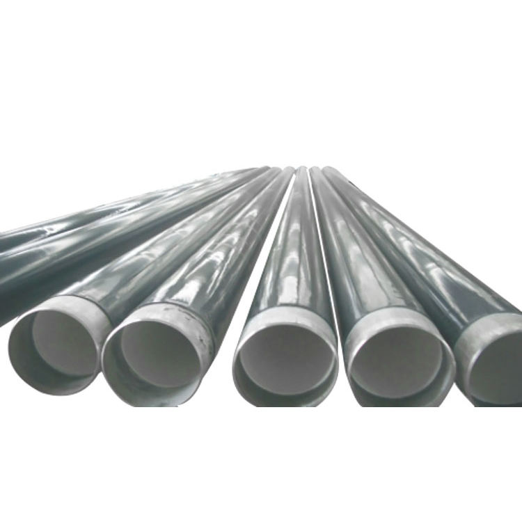 100% customization Full corrosion resistant GB standard PE RT rubber lined carbon steel pipe
