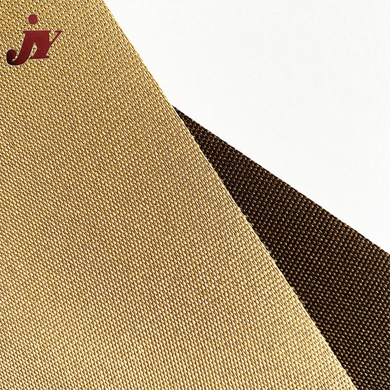 Jinyi factory jacquard fabric wholesale oxford fabric coated with PVC durable fabric used in folding chair
