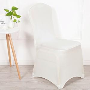 fundas para sillas plegables colores | Fundas de LICRA para asiento de boda, fundas blancas de LICRA para silla, venta al por mayor de fábrica