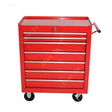 cheap tool storage box trolley cart with 7 drawers, ball bearing slide