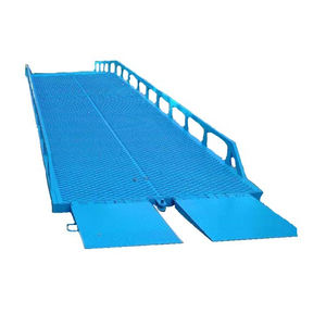 Manual Yard Ramp Hydraulic container loading ramp portable Lift Ramp