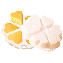 6 Cells Eco-friend Mousse Cake Mould Cheese Silicone Cake Baking Mould
