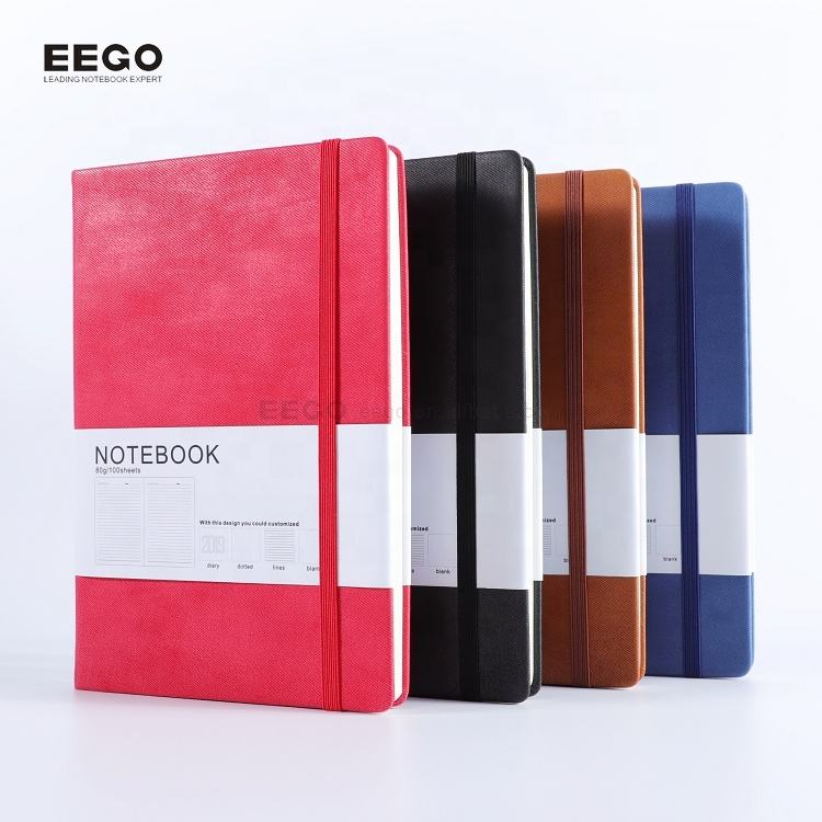 Office supply cheap writing colorful PU leather writing journal