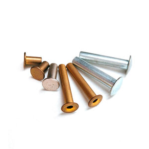 steel / aluminum rivets / semi tubular rivet / blind rivet