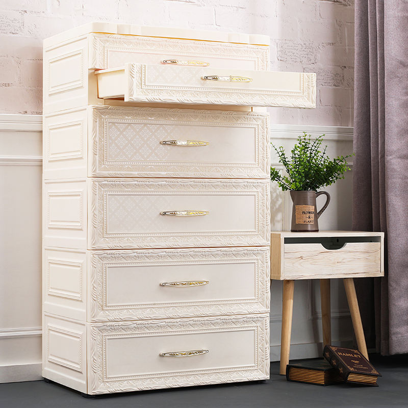 3-7 Layers Factory Price Baby Storage Wardrobe Cupboard Kids Plastic Cabinet