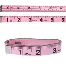 customised tailor measuring tape 150 cm custom printed your BRA brand pink measuring tape 15 mm centimeter for promotion