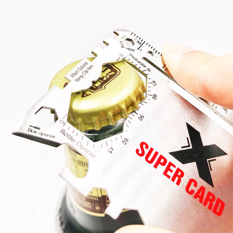 Advertising Marketing Items Wallet Beer Credit Multi Tool Card Promotion Gift Set