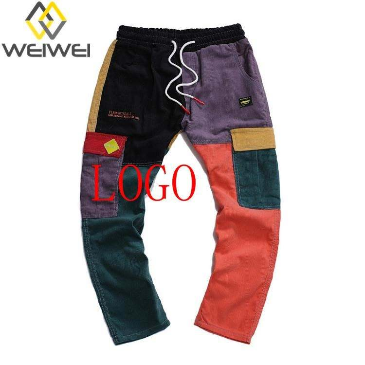 ABFS-003 WEIWEI New design mid waist man 1 piece jeans denim men
