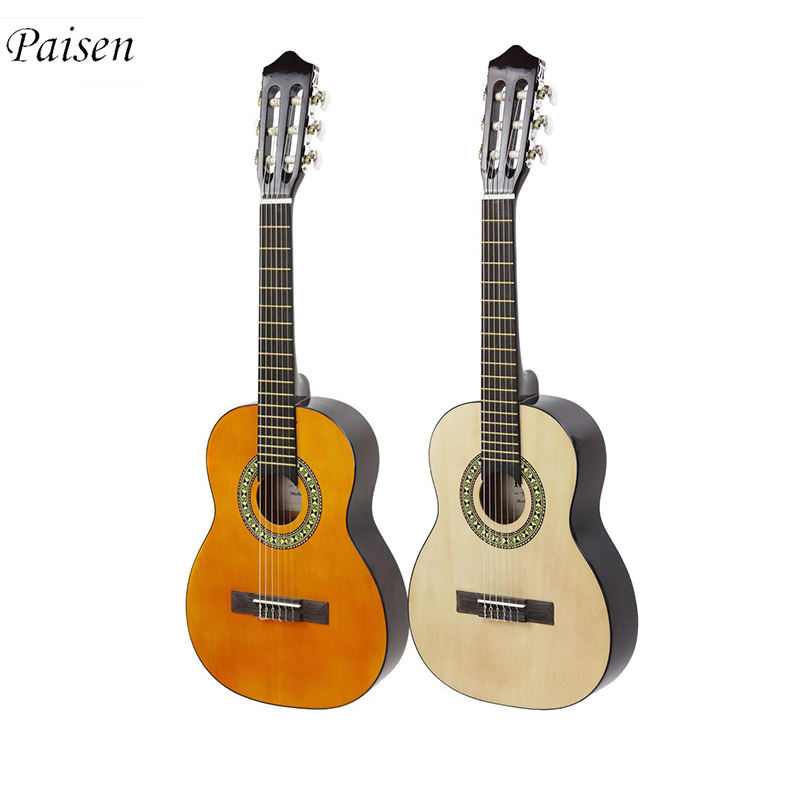 Paisen 30 inch wooden acoustic guitar,custom mini acoustic guitar,best beginner acoustic guitar students classical guitar