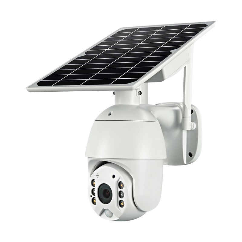 2020 hottest selling 1080p gsm solar panel cctv camera with 4g sim card slot