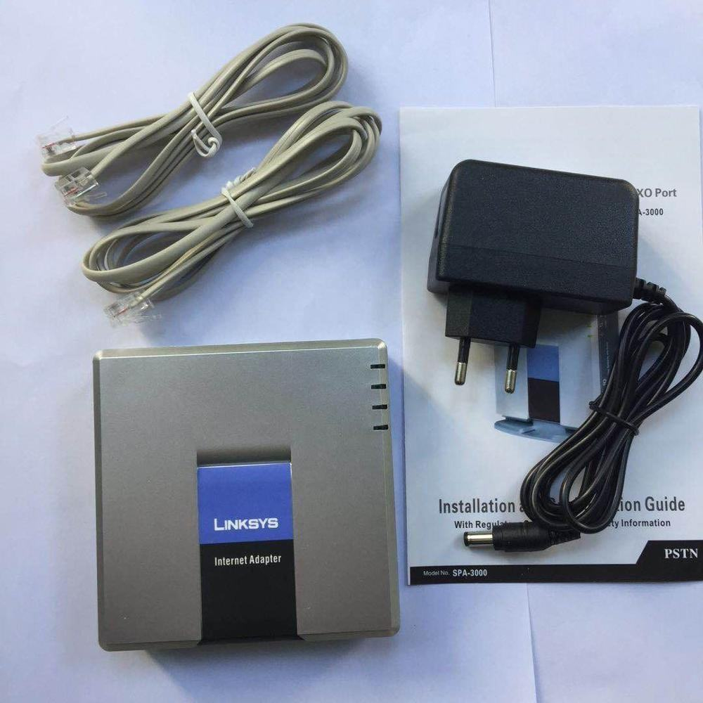 Dibuka Linksys SPA3000 Spa-3000 SIP <span class=keywords><strong>VOIP</strong></span> Adapter <span class=keywords><strong>1</strong></span> Port FXO + <span class=keywords><strong>1</strong></span> Port FXS
