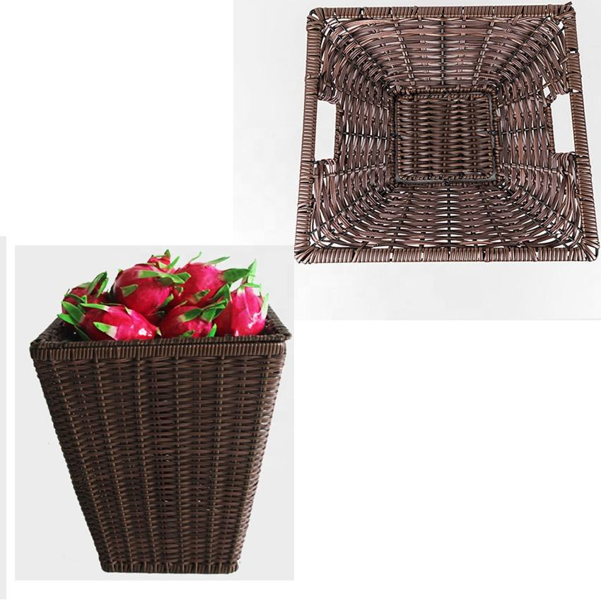 wicker plate holders with various styles