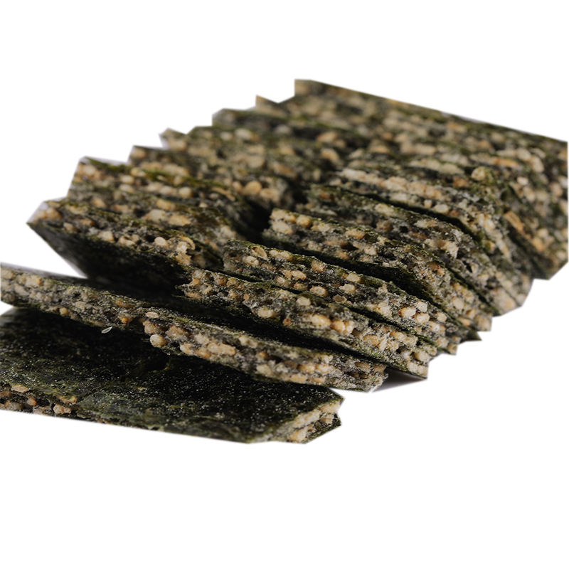 Wholesale canned three-layer sesame sandwich seaweed