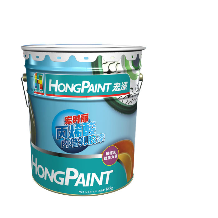 Acrylic acid Paint white interior wall Emulsion paint coating waterproof