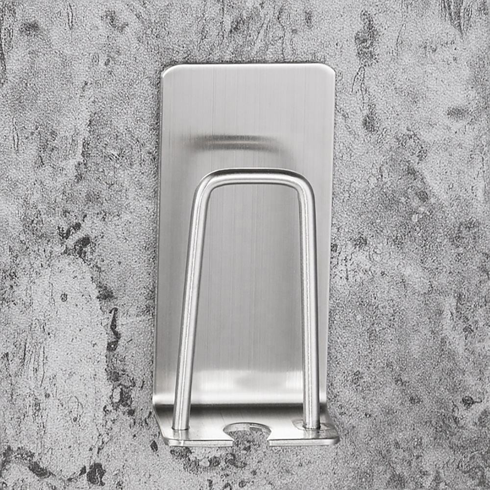 Bathroom Wall Mount Stainless Steel Automatic Toothpaste Dispenser and Toothbrush Holder