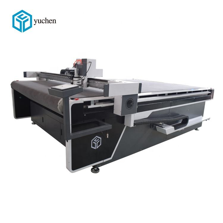Automatic CNC acrylic board PP board cutting machine with high precision
