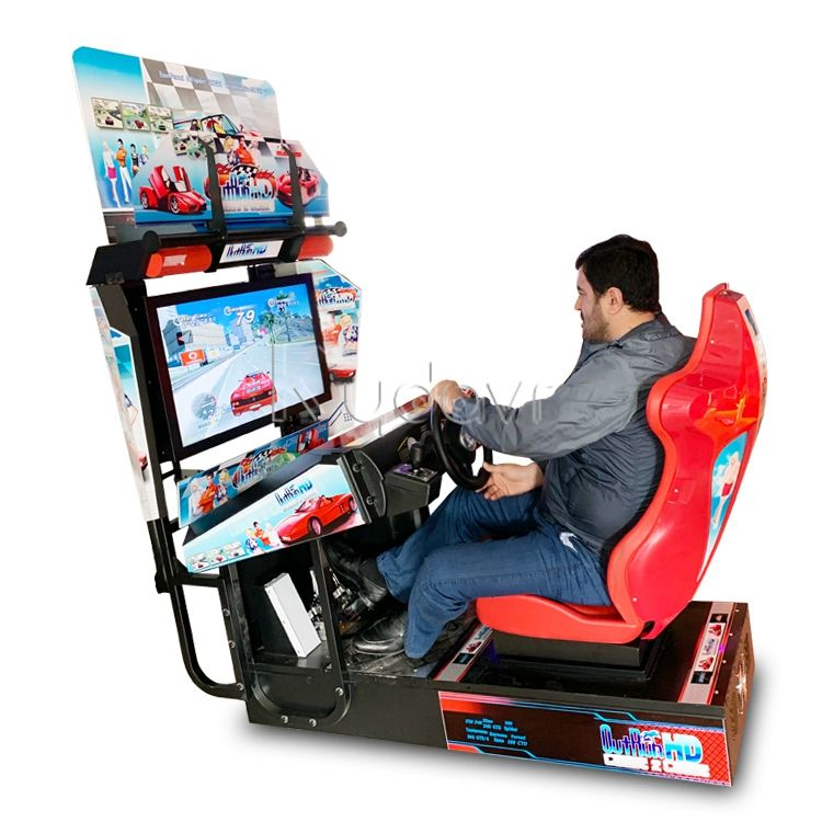 Cheapest Coin operated arcade Racing Simulator games motherboards machines