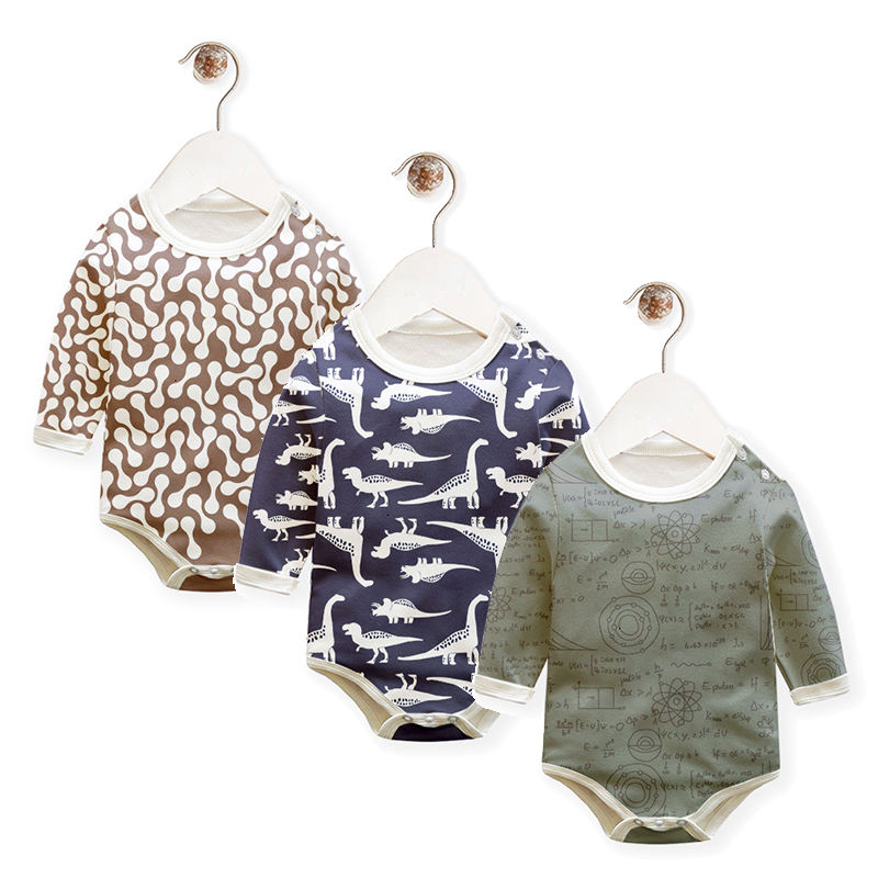 Organic Cotton Baby Rompers Wholesale Baby Clothes Baby Boy Clothes Rompers