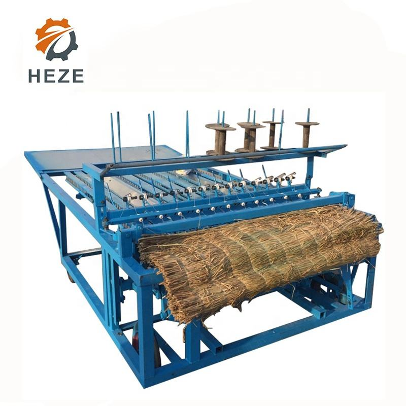 Convenient Use Reed Mat Knitting Machine Hemp Palm Fiber Bed Mattress Machine Coconut Fiber Mattress Braiding Machine
