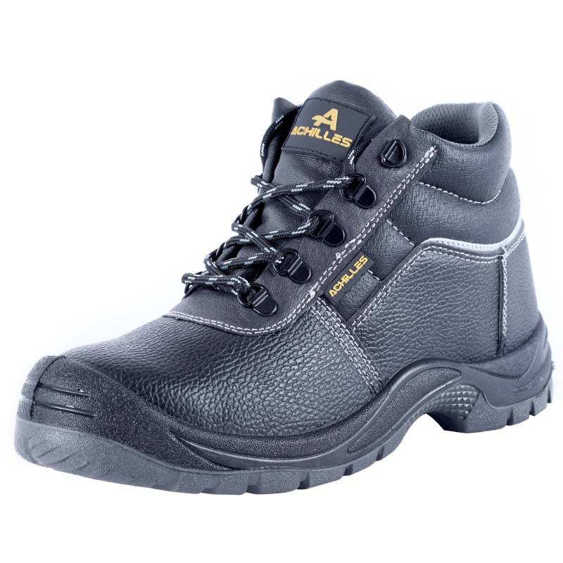 Achilles Brand Steel Toe Safety Shoes For Work