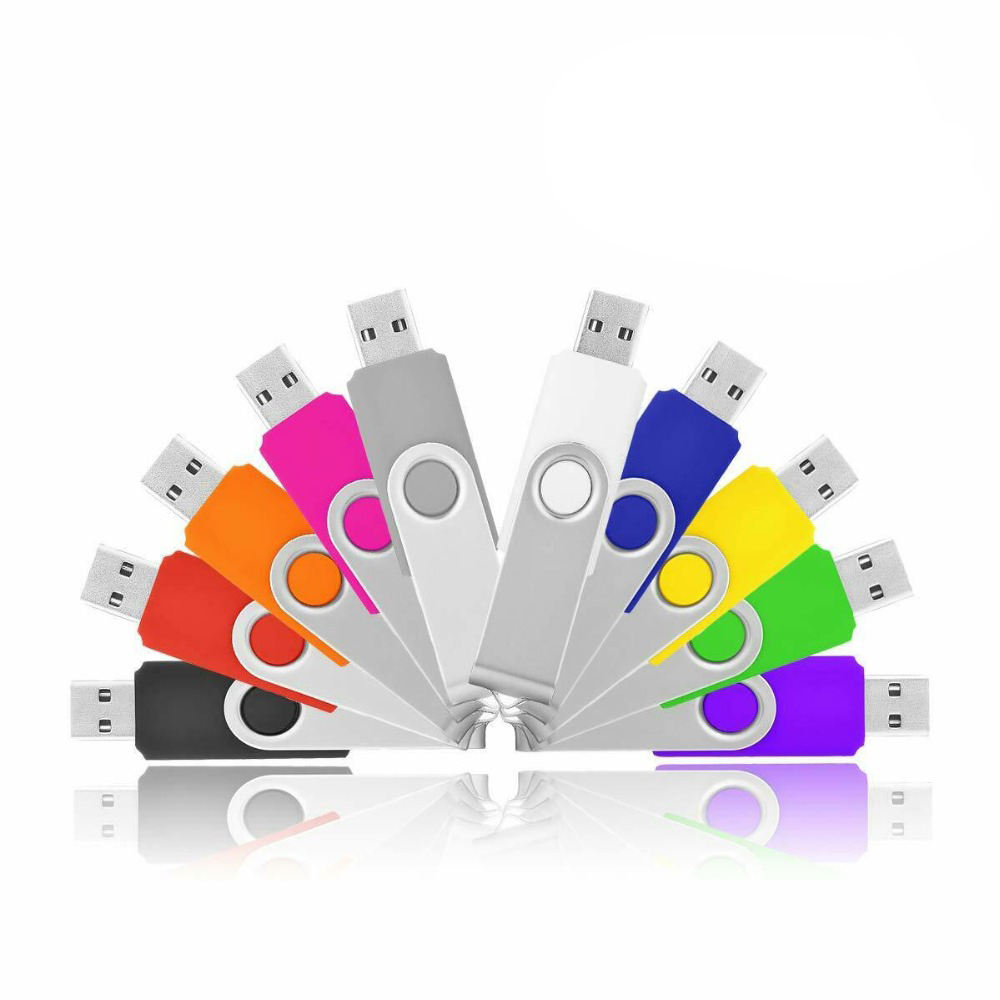 Custom Logo Color 1gb 2gb 4gb 8gb 8 Gb 16gb 32gb Usb 2.0 Usb3.0 Swivel Twist Usb Pen Memory Stick Usb Flash Drive