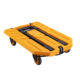 Compact steel heavy duty platform lightweight portable retractable 4wheel folding hand dolly shopping luggage trolley cart truck