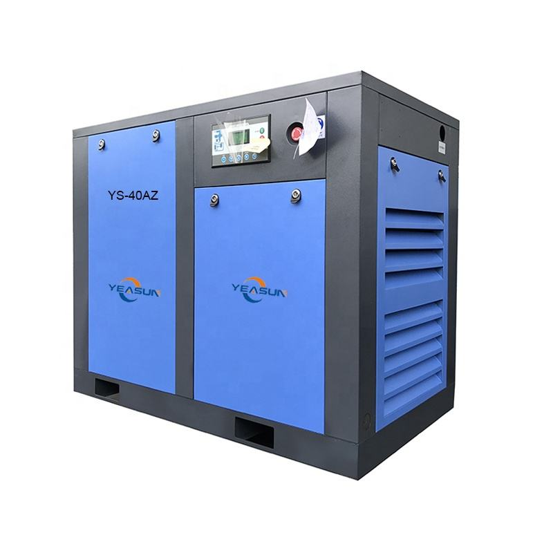 Yeasun Low Noise Stationary 40HP 37kw Air Breathing Compressor