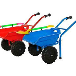 new beach Kids Plastic Wheelbarrow toy/children's stroller beach toy car children's wheelbarrow tipper cart pushing soil
