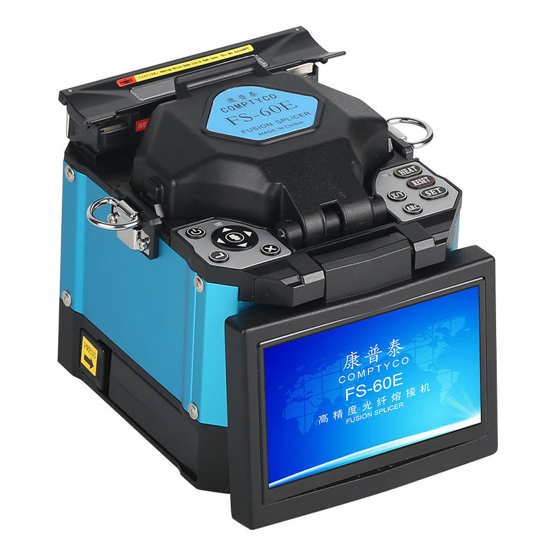 new product COMPTYCO FS-60E Automatic Optical Fiber Fusion Splicer Intelligent FTTH Optical Fiber Welding Splicing Machine
