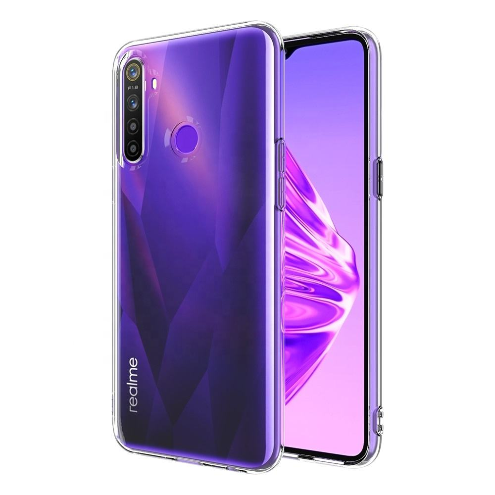 High Fashion 2.0Mm Transparante Coque Smartphone Tpu Telefoon Case Back Cover Voor Oppo Realme 6i Narzo 10 5 5S C11 6 Pro X50 C3 C3i