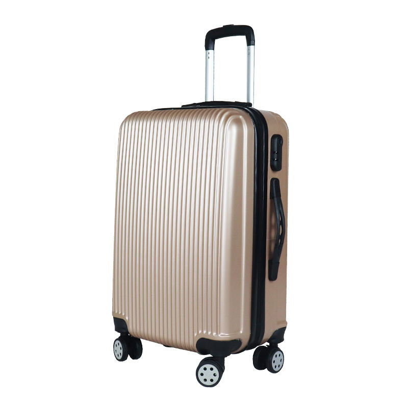 customize trolley bags luggage 20/24/28 inch customized uv print travel bags luggage abs 1 set suitcase china factory valise