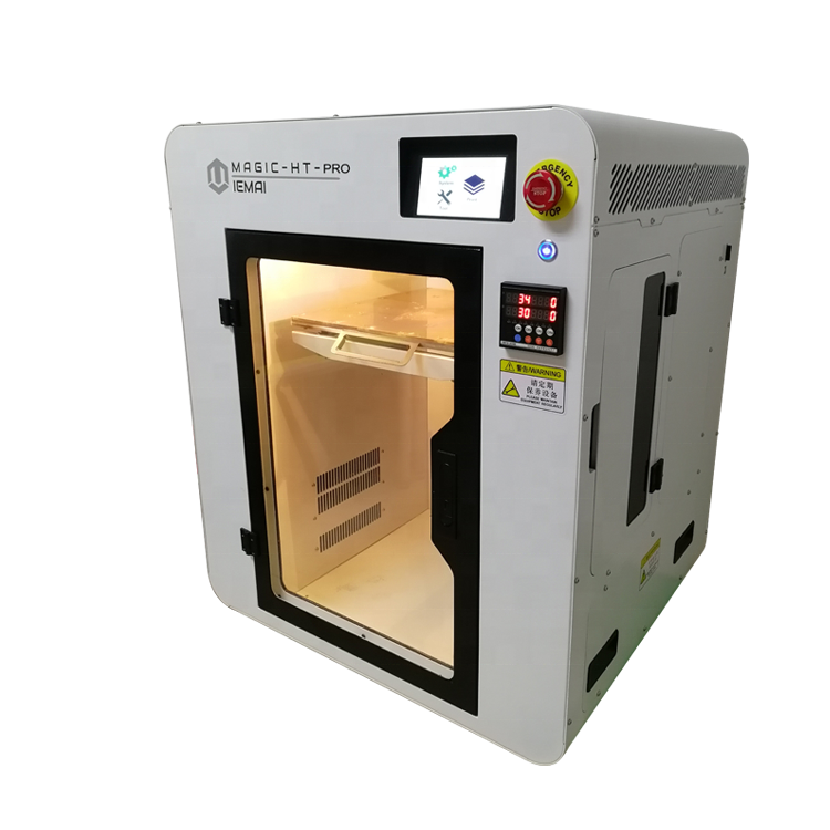 Multiple application HT 3D printer dual extruder PEEK 3D printing machines specialized in functional materials
