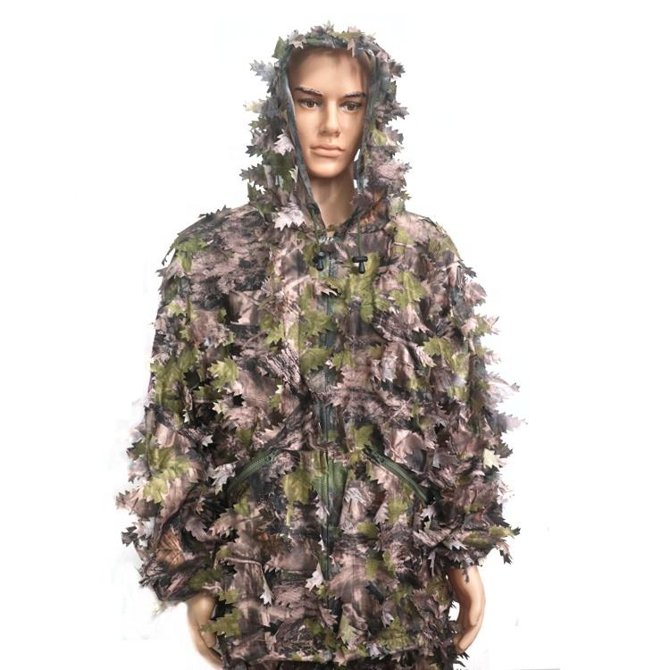 Outdoor Hunting 3D Leaf Military Camouflage Suit Gilly Suite Gilli Suit