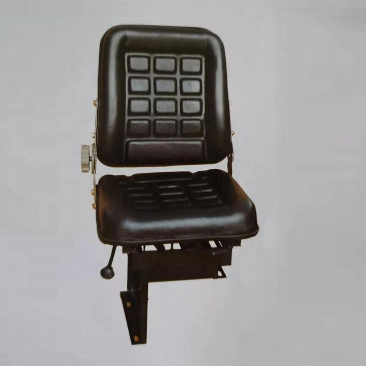 Black Cover Leather Seat Car Heating Construction Machinery Seat