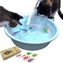 Interactive Swimming Robot Fish Toy for Cat/Dog with LED Light Cat & Dog Toy