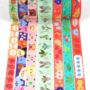 Washi tape factory custom printed your own design decoration masking paper washi tape