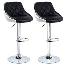 Low MOQ Adjustable Height Swivel Chair, PU Leather Bar Stool Chair