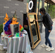 photo booth magic mirror lcd /Espejo Magico with 4K HD TV